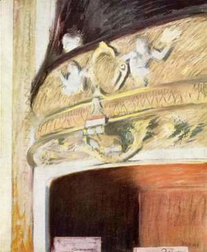 Edgar Degas - Theater box