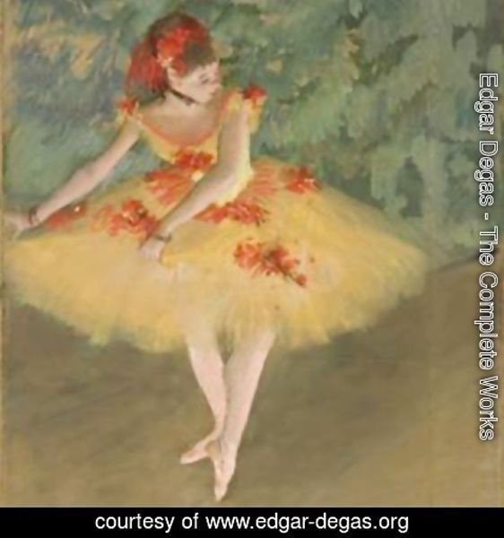 Edgar Degas - Dancer Making Points
