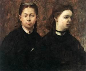 Edgar Degas - Double Portrait