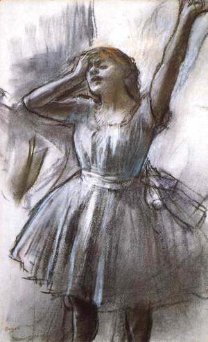 Edgar Degas - Tired Dancer