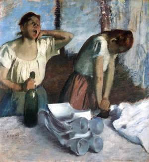 Edgar Degas - The Ironers