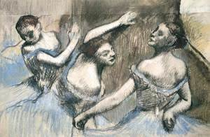 Edgar Degas - Three Dancesrs