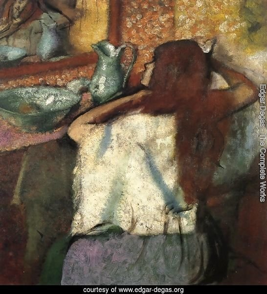 Woman at Her Toilette 3