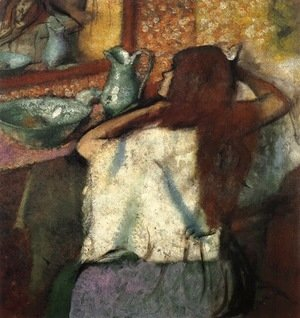 Edgar Degas - Woman at Her Toilette 3