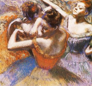 Edgar Degas - Dancers 8