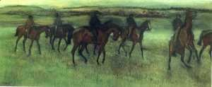 Edgar Degas - The Riders