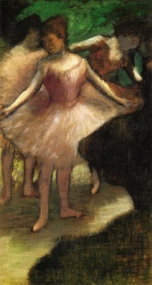 Edgar Degas - Three Dancers in Pink