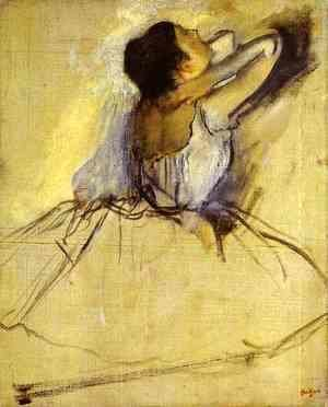 Edgar Degas - Dancer 6