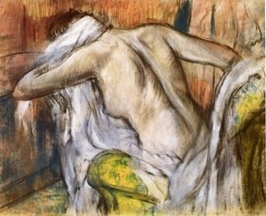 Edgar Degas - After Bathing, Woman Drying Herself 2