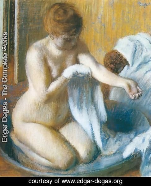 Edgar Degas - After the Bath 4