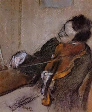 Edgar Degas - The Violist