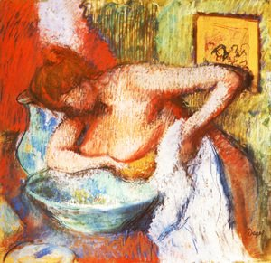 Edgar Degas - The Toilette