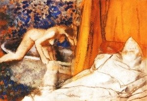 Edgar Degas - The Bath 2