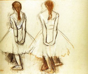Edgar Degas - Study for the Fourteen Year Old Little Dancer
