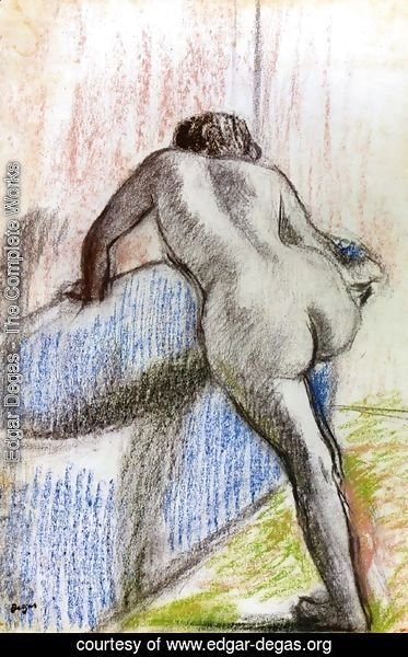 Edgar Degas - The Bath 3