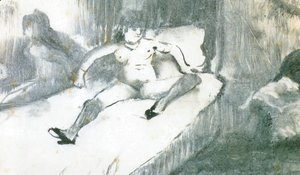 Edgar Degas - Rest on the bed