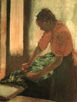 Edgar Degas - Woman Ironing 2