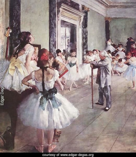 The Dance Class 1873-76