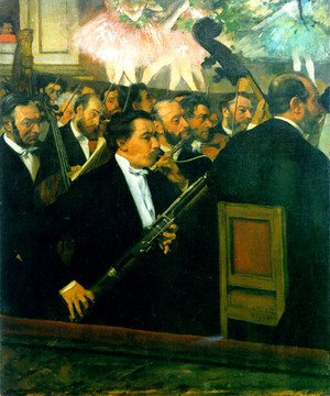 Edgar Degas - The Orchestra of the Opéra 1870