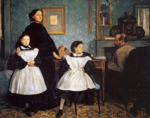 Edgar Degas - The Bellelli Family 1859-60
