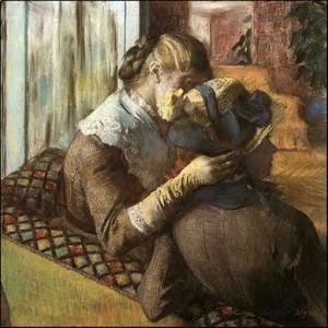 Edgar Degas - At The Milliners