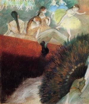Edgar Degas - At The Ballet