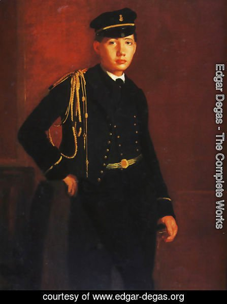 Edgar Degas - Achille De Gas In The Uniform Of A Cadet