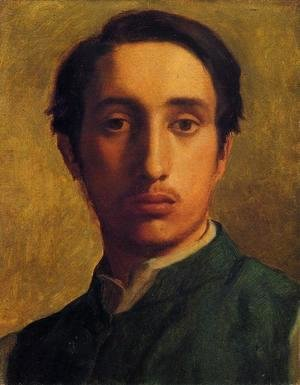 Degas In A Green Jacket