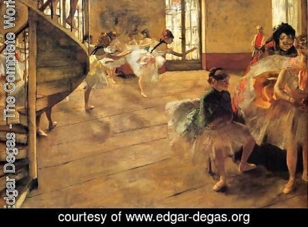 Edgar Degas - The Rehearsal 1877