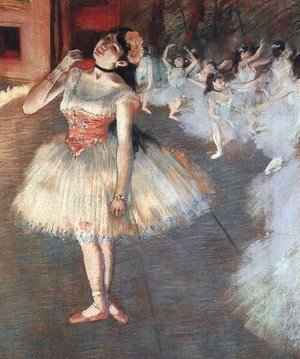 Edgar Degas - The Star 1871-81