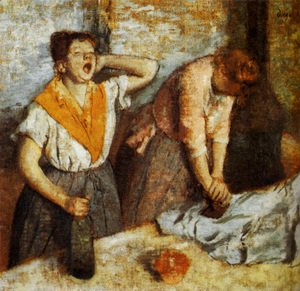 Edgar Degas - Women Ironing  1884-86