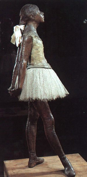 Edgar Degas - Young 14 Year Old Dancer