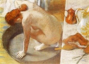 Edgar Degas - The Tub 1886