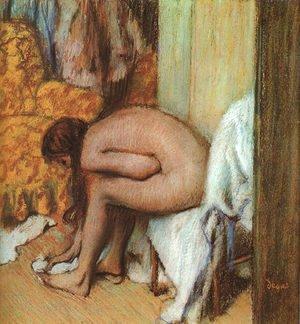 The Tub 1886 | Edgar Degas