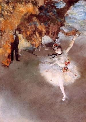 Edgar Degas - The Star 1876-77