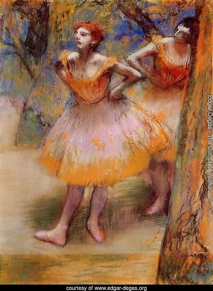 Two Dancers 1890