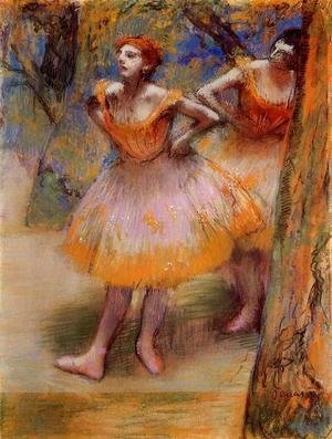 Edgar Degas - Two Dancers 1890
