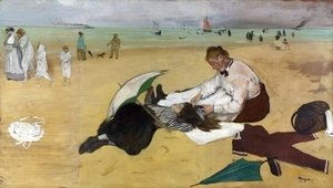 Edgar Degas - At the Seaside