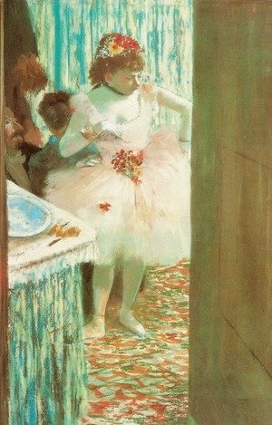 Edgar Degas - Ballet Dancer in Her Dressing Room